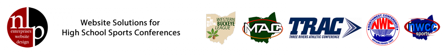 NLP Enterprises - Website Development for Ohio High School Conferences - Ohio High School Sports Websites Logo