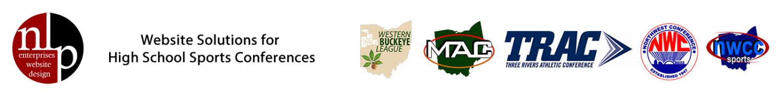 NLP Enterprises - Website Development for Ohio High School Conferences - Ohio High School Sports Websites Logo